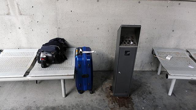 バンクーバー国際空港の喫煙所