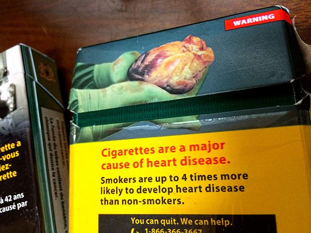 カナダ、トロントの喫煙・タバコ事情