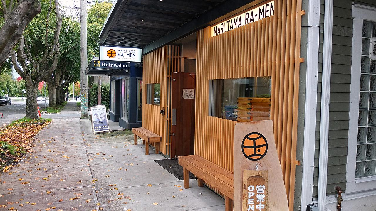 ホテルへ行く途中にラーメン屋さんが!他にも日本のラーメン屋が2,3店舗ありました。