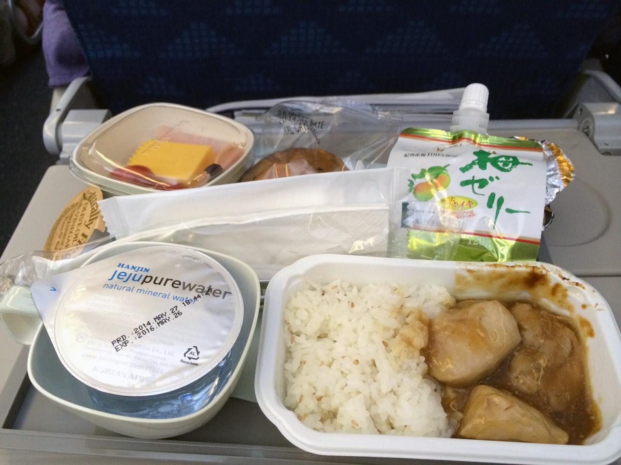 何故、人間は機内食の写真を撮影してしまうのだろうか・・・。
