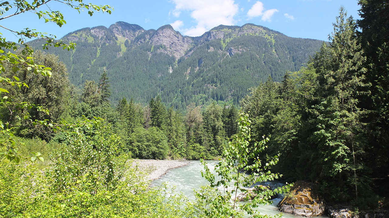 【カナダワーホリ】HOPE(ホープ)からOthello Tunnels(オセロトンネル)観光とカナダ初キャンプ