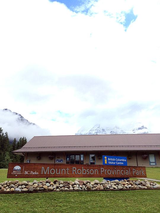 BC州まで車で移動して、ロブソン山の麓へ。