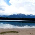 【カナダ ジャスパー】Lake Annette Beach(アネッテ湖)までサイクリング