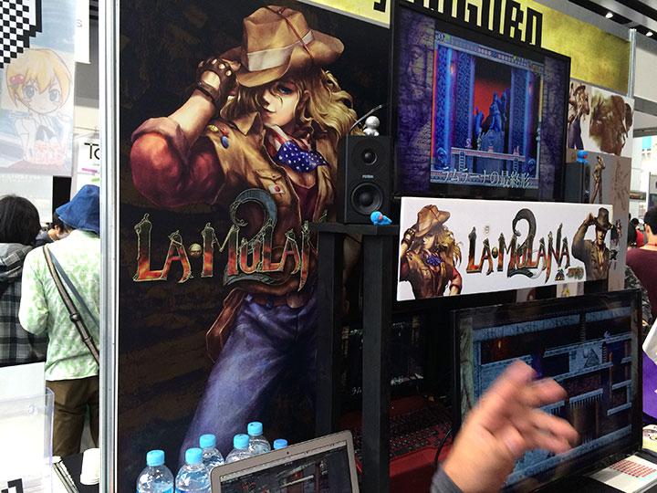 フリーソフト発でwiiウェアで発売された『LA-MULANA』の2もありました。