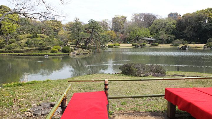 駒込「六義園」日本庭園でまったりと和菓子を食べてきました