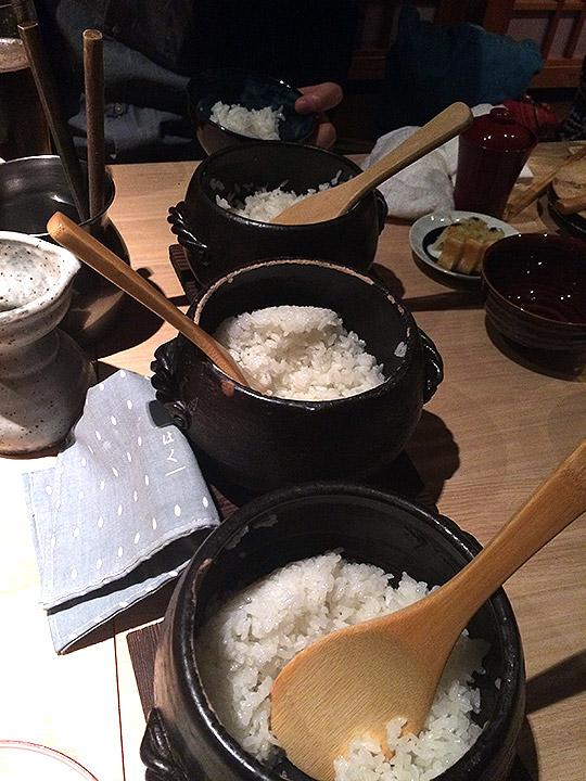 3つお米の種類を選べると言うことだったので頼んでみました。