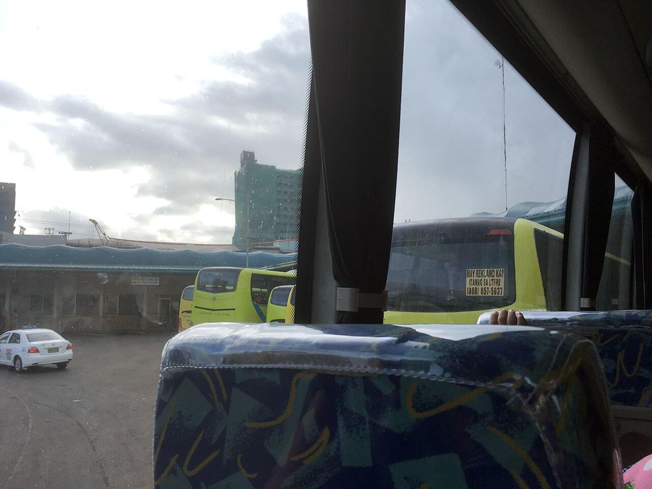 翌朝は、長距離バスでドゥマゲッティ市まで移動します。