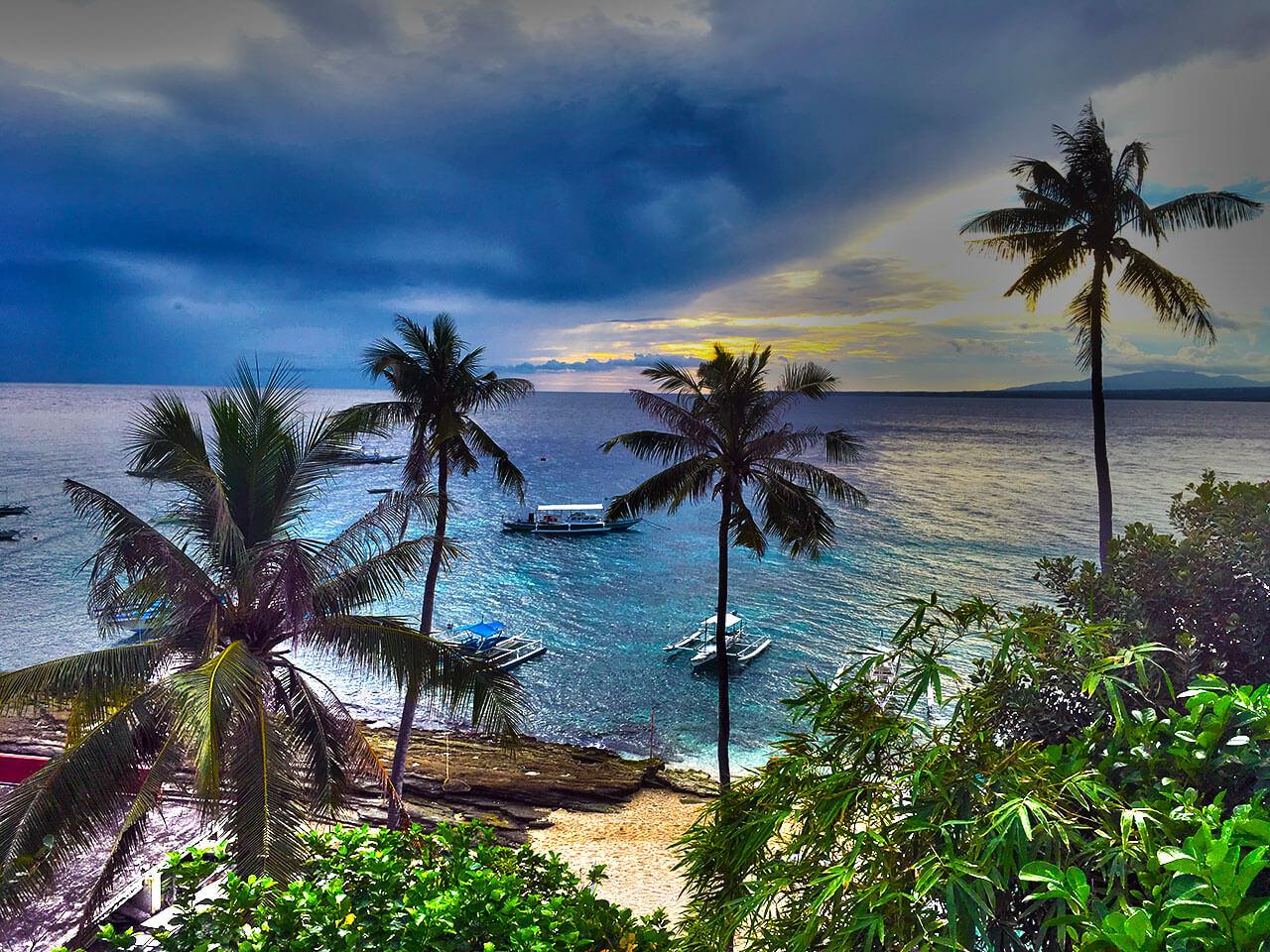 【フィリピン田舎旅】セブ島からドゥマゲッティを通り船でダイビングで有名なアポ島へ