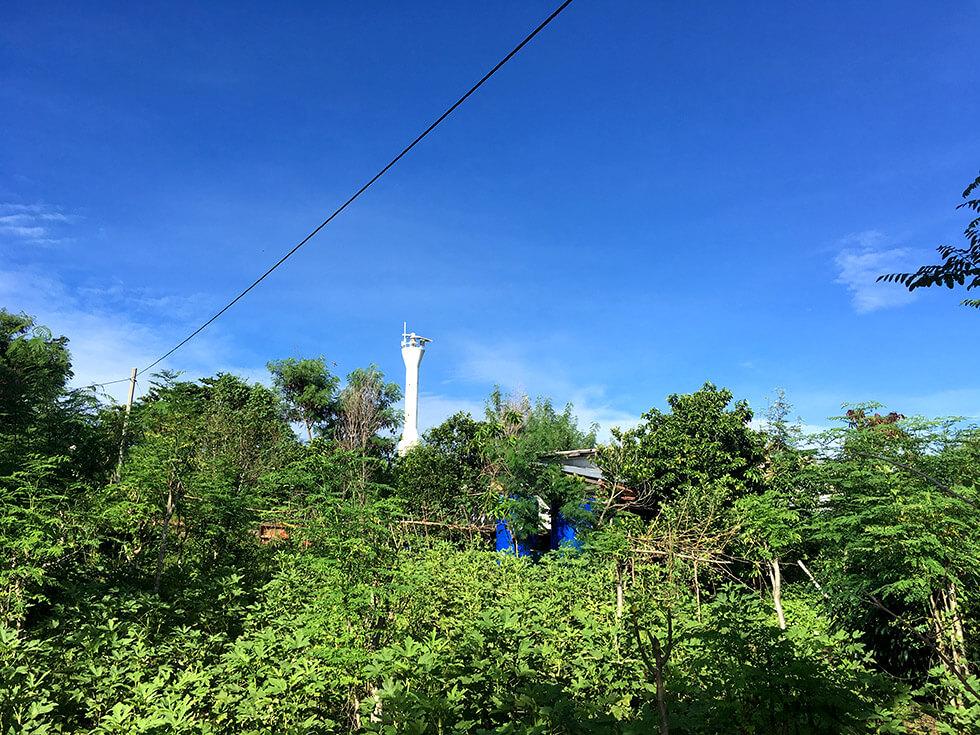 少しずつ休憩しながら、灯台がある場所まで到着。