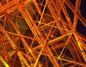 東京タワーの真下でビアガーデンとジンギスカンを堪能してきた