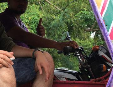 【フィリピン田舎旅】アポ島からドゥマゲッティへトライシクルで移動